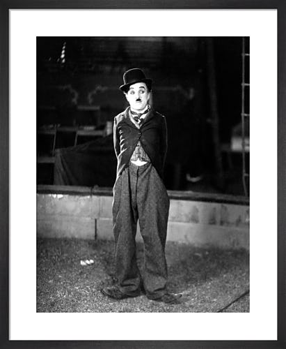 Charlie Chaplin (The Circus) by Hollywood Photo Archive