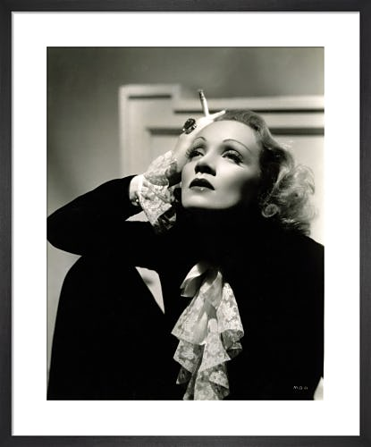 Marlene Dietrich by Hollywood Photo Archive