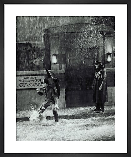 Gene Kelly (Singin' in the Rain) by Hollywood Photo Archive