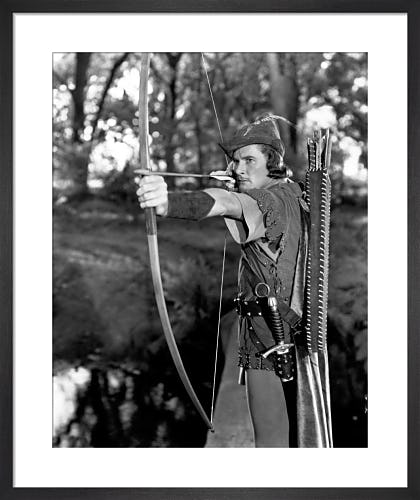 Errol Flynn (The Adventures of Robin Hood) by Hollywood Photo Archive