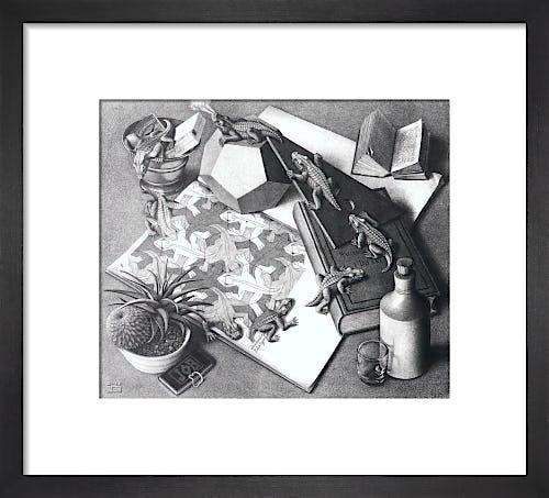 Reptiles by M.C. Escher