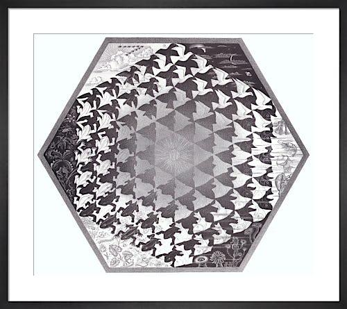 Verbum by M.C. Escher