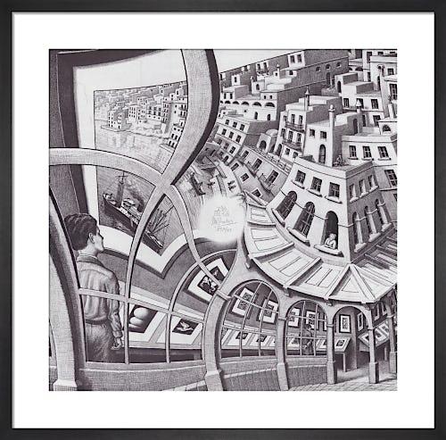 Print Gallery by M.C. Escher