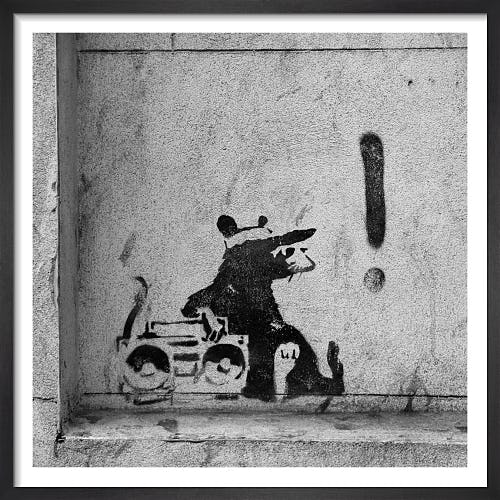 Banksy - Moorfields by Panorama London