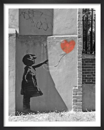 Banksy - New North Road by Panorama London