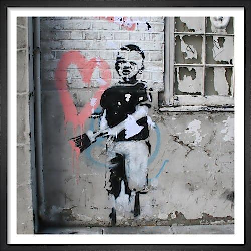 Banksy - Angel by Panorama London