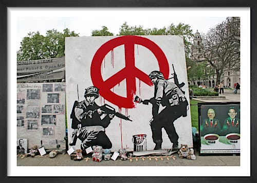 Banksy - Parliament Square (Colour) by Panorama London