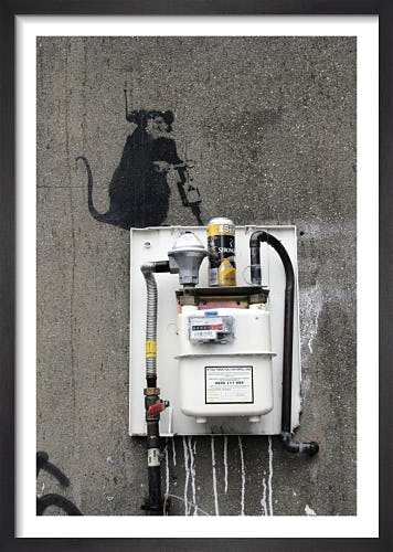 Banksy - Hoxton 1 by Panorama London