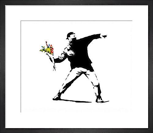 Flower Chucker by Street Art