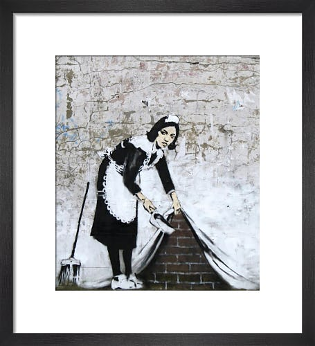 Chamber Maid by Street Art