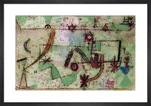 Im Bach'schen Stil (In the Manner of Bach), 1919 by Paul Klee