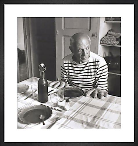 Les Pains de Picasso 1952 by Robert Doisneau