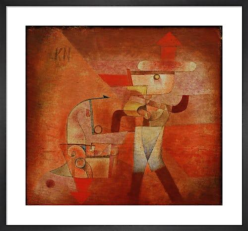 KN the Blacksmith 1922 by Paul Klee