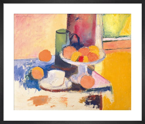 Still Life With Oranges by Henri Matisse