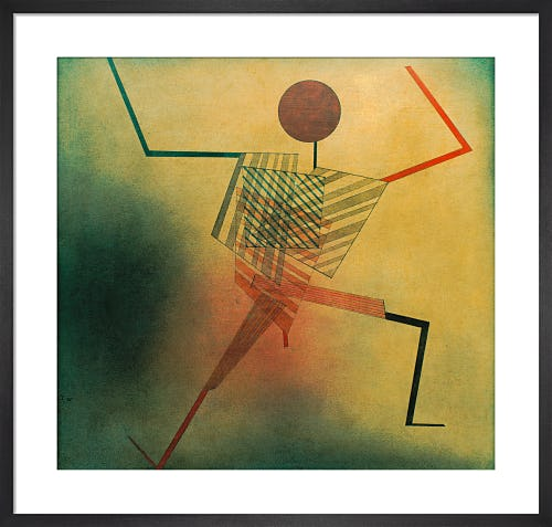 The Jumper 1930 by Paul Klee