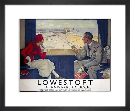 Lowestoft - It's Quicker by Rail by Anonymous