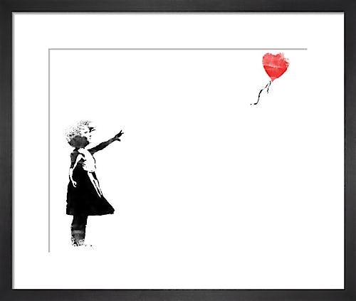 Heart Balloon by Street Art