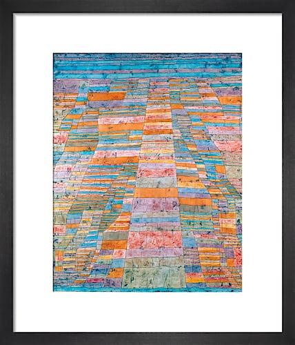 Haupt- und Nebenwege (Highway and Byways) 1929 by Paul Klee