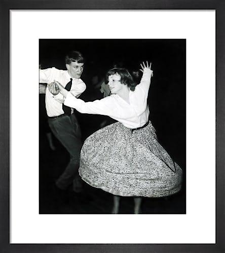 Couple jiving, Hammersmith 1957 by Mirrorpix