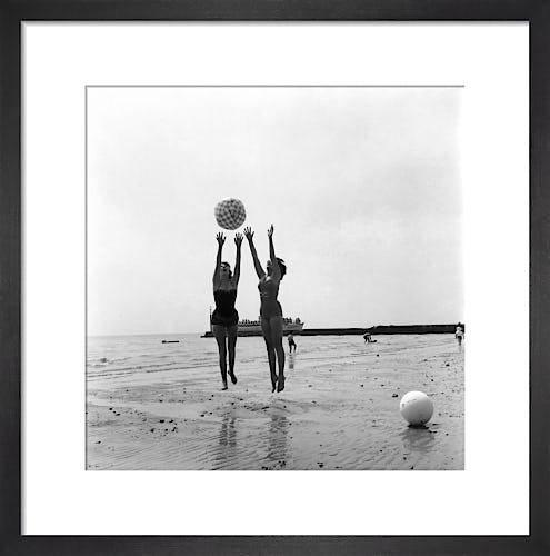 Clacton Beach, 1960 by Mirrorpix