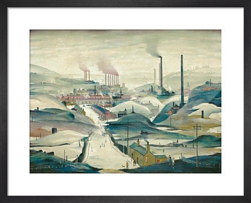 Industrial Panorama by L.S. Lowry