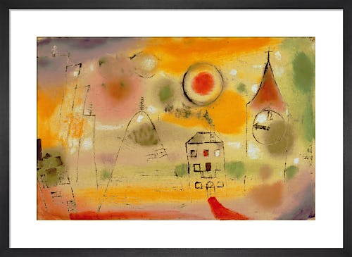 Winter Day, Shortly Before Noon 1922 by Paul Klee