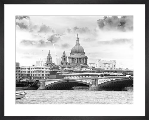 St Pauls and Blackfriars by Panorama London