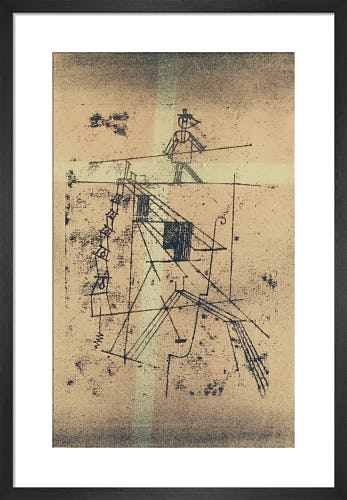 Tightrope Walker 1923 by Paul Klee