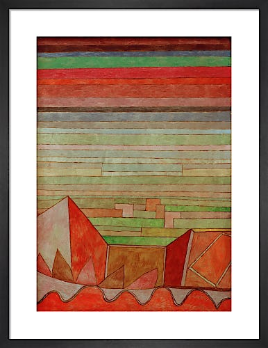 Blick in das Fruchtland (View of the Fertile Country) 1932 by Paul Klee