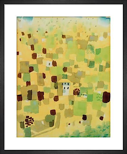 Sicily 1924 by Paul Klee