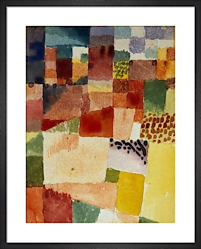 Motif from Hamammet 1914 by Paul Klee