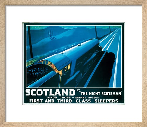 The Night Scotsman by Anonymous