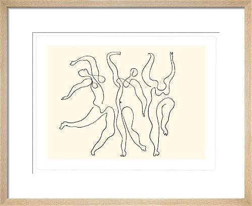 Trois danseuses 1924 by Pablo Picasso