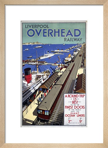 Liverpool Overhead Railway - Prices by Anonymous