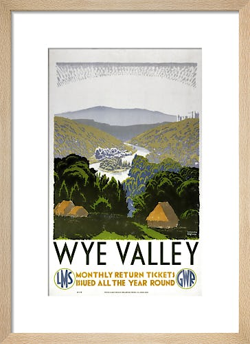 Wye Valley - Monthly Return Tickets by Anonymous