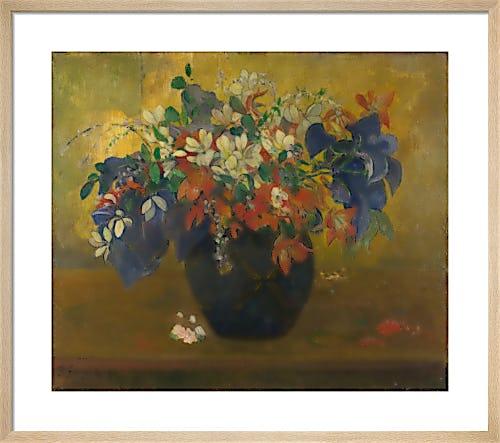 A Vase of Flowers by Paul Gauguin