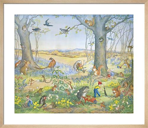 Woodland Gardeners by Molly Brett