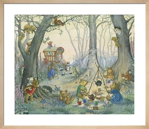 Teddy Bear Camp by Molly Brett
