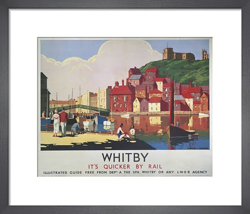 Whitby - It's Quicker by Rail by Anonymous