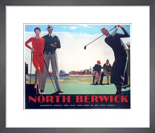 North Berwick - Golf I by Anonymous