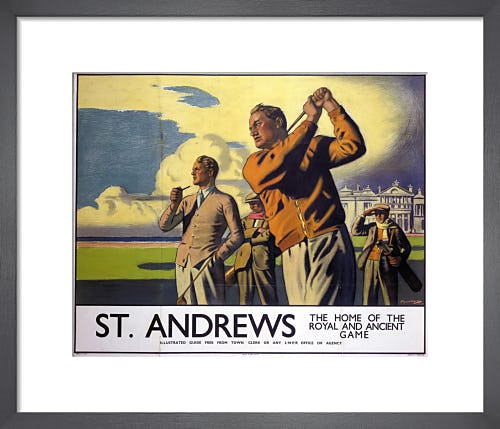 St Andrews - Golf by Anonymous