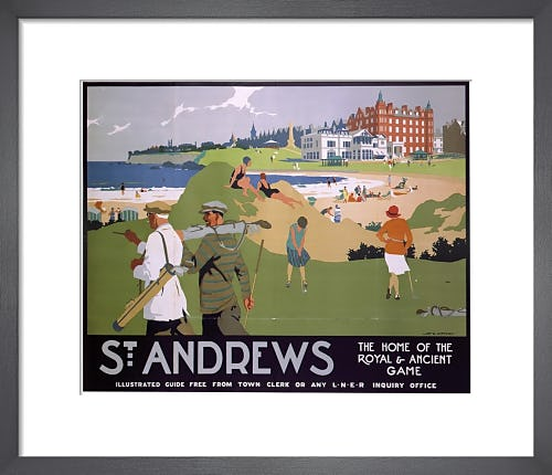St Andrews - Home of the Royal and Ancient Game by Anonymous