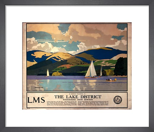 The Lake District - Windermere from Bowness by Anonymous