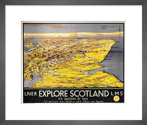 Explore Scotland - Map by Anonymous