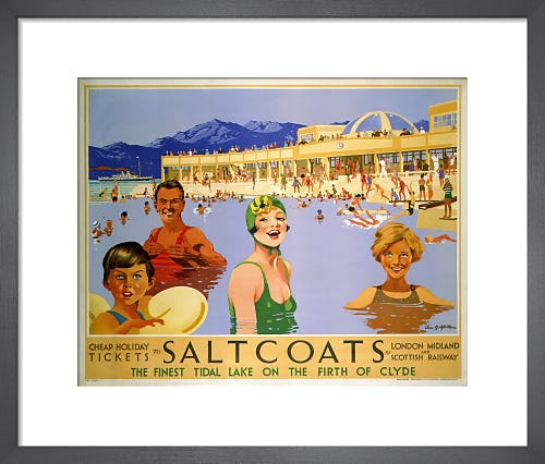 Saltcoats on the Firth of Clyde by Anonymous