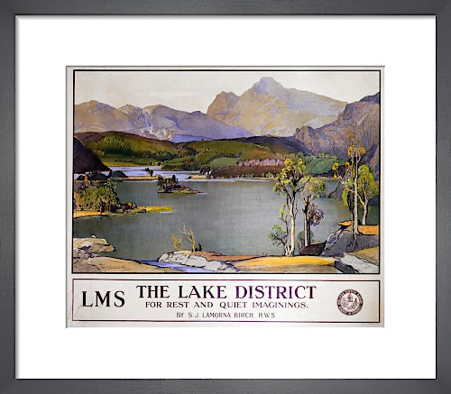 The Lake District - Rest and Quiet Imaginings by Anonymous
