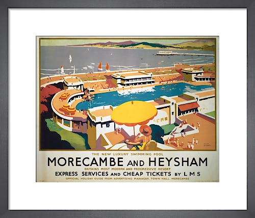 Morecambe and Heysham - Swimming Pool by Anonymous
