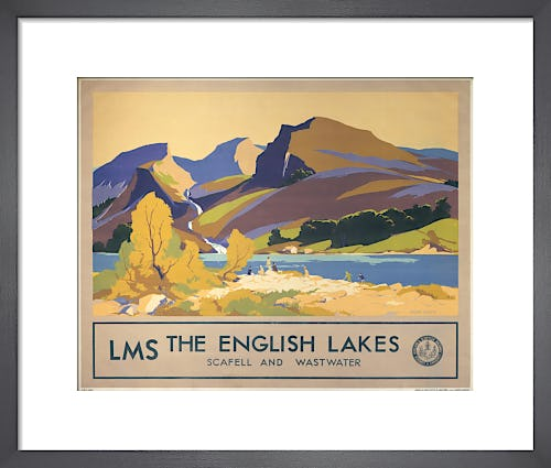 The English Lakes - Scafell and Wastwater by Anonymous