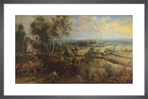 A View of Het Steen in the Early Morning by Sir Peter Paul Rubens