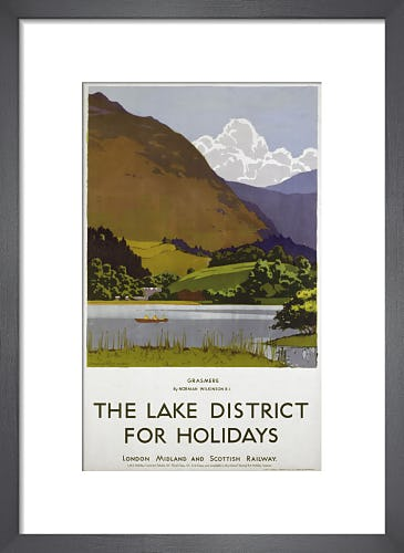 Lake District - Grasmere by Anonymous